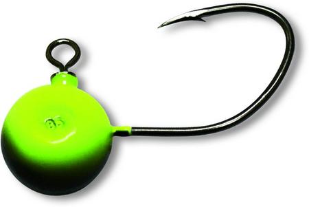 Black Cat Jiggová Hlavička Fireball Zelená 7/0 120 g