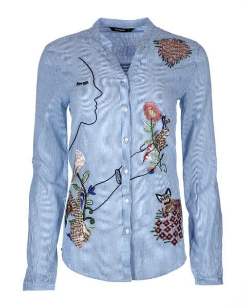 a0c25dc0283 Desigual dámská košile S modrá