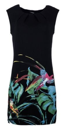 Desigual dámské šaty S čierna  898fa5016e5