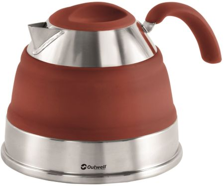 Outwell Collaps Kettle 1.5L Terracotta