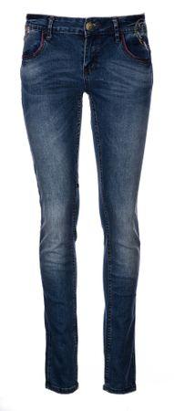 Desigual jeansy damskie 27 niebieskie