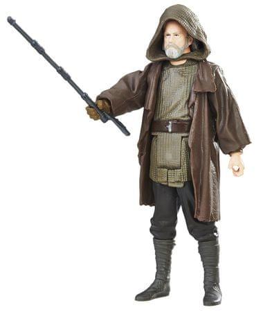 Star Wars E8 Force Link figura kiegészítőkkel- Luke Skywalker