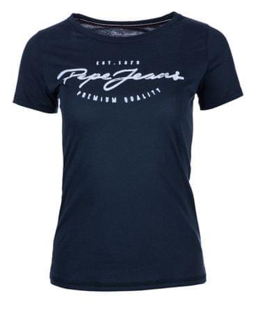 Pepe Jeans ženska majica Charleen S temno modra