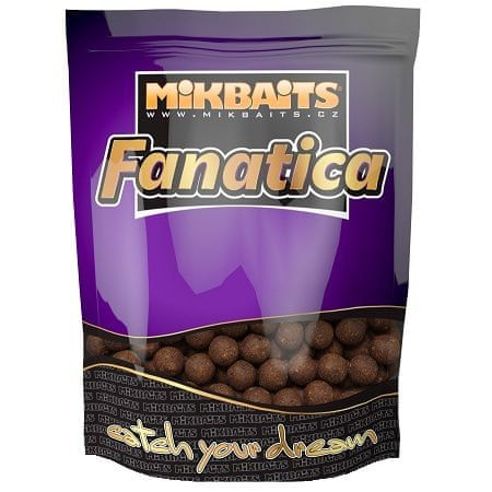 Mikbaits boilie Fanatica 10 kg 24 mm oliheň black pepper asa