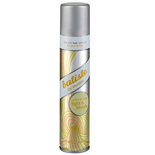 Batiste Suchý šampon pro blond vlasy (Dry Shampoo Plus Brilliant Blonde) (Objem 200 ml)