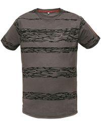 Assent Pánske tričko s krátkym rukávom Miller šedá L