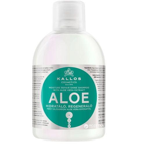 Kallos Obnovující šampon s Aloe Vera (Moisture Repair Shine Shampoo) 1000 ml
