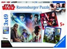 Ravensburger Disney Star Ward Epizód VIII 3x49 darabos