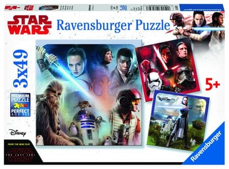 Ravensburger Disney Star Wars Episode VII 3x49 elementów