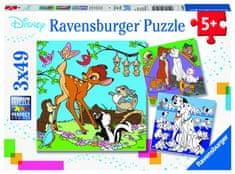 Ravensburger Disney barátok 3x49 darabos