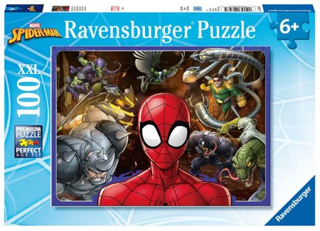 Ravensburger puzzle Disney Spiderman 100 elementów