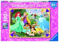 Ravensburger sestavljanka Disney Princese, 100 delov
