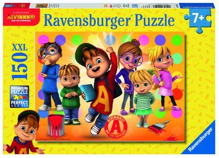 Ravensburger puzzle Alvin i przyjaciele 150 elementów