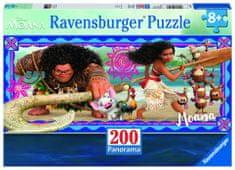 Ravensburger Disney Vaiana: Dobrodružství Moany 200 dílků Panorama