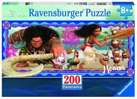 Ravensburger sestavljanka Disney Vaiana: avanture Moana, 200 delov