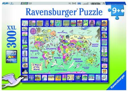 Ravensburger Pohled na zemi 300 dílků
