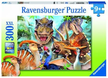 Ravensburger puzzle Dino Selfies 300 elementów