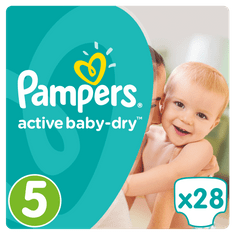 Pampers Active Baby Mid Pack S5 28ks