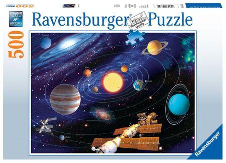 Ravensburger puzzle Układ Planetarny 500 elementów