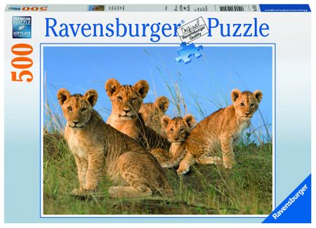 Ravensburger Lvíčí mláďata 500 dílků