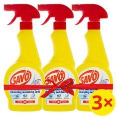 Savo Univerzální dezinfekční sprej 3 x 500 ml