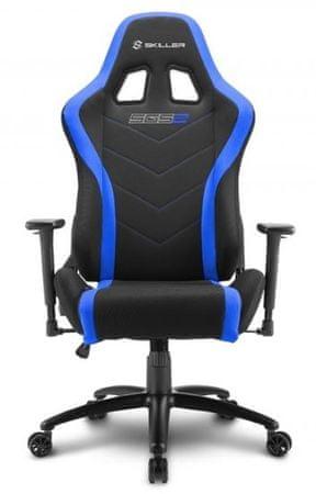 Sharkoon gamerski stol Shark SGS2, crno/plavi