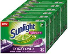 Sunlight All in 1 Extra Power Mega Pack Tablety do myčky 120 ks