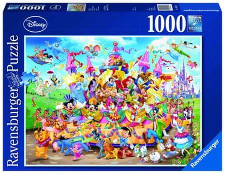 Ravensburger puzzle karnawał Disneya 1000 elementów