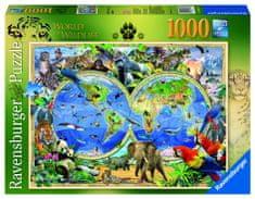Ravensburger Svět divočiny 1000 dílků
