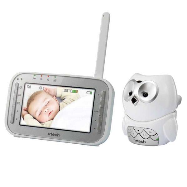 Vtech BM4300 dětská video chůvička, Sova