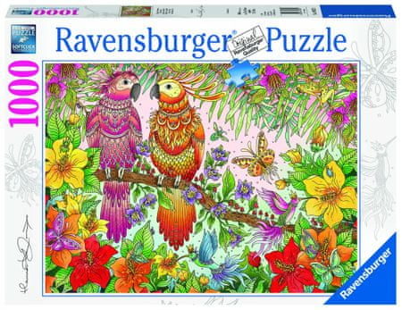 Ravensburger sestavljanka Tropsko doživetje, 1000 kos