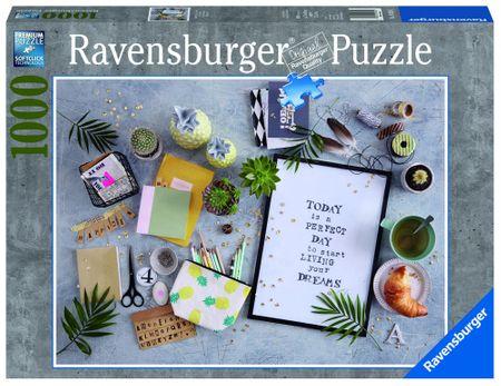 Ravensburger sestavljanka Začnite živeti svoje sanje, 1000 kos