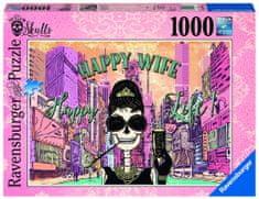 Ravensburger Šťastná žena šťastný život 1000 dílků