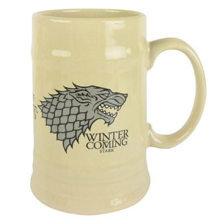 Keramický korbel Game of Thrones - Stark (0,5 l.)
