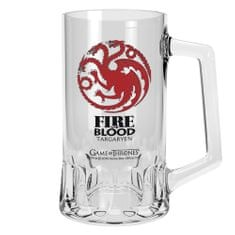 Půllitr Game of Thrones - Targaryen  (0,5 l.)
