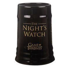 Keramický korbel Game of Thrones - Night´s Watch (0,5 l.)