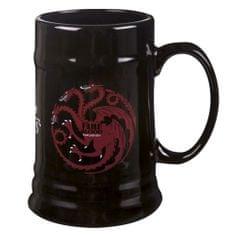 Keramický korbel Game of Thrones - Targaryen (0,5 l.)