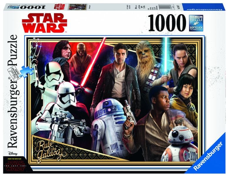 Ravensburger Disney Star Wars: Episode VIII 1000 dílků