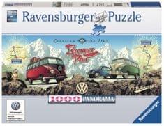 Ravensburger Přes Alpy s VW 1000 dílků