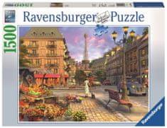 Ravensburger Vintage Paříž 1500 dílků