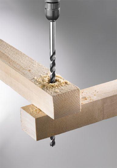 KWB podaljšani sveder za les, 8x250 mm (511808)