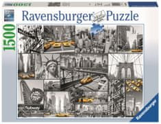 Ravensburger New York taxi 1500 dílků