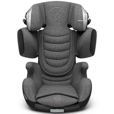 KIDDY Gyermek autósülés Cruiserfix 3 2018, Grey Melange Icy Grey