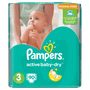2 - Pampers Pieluchy Active Baby 3 Midi (5-9 kg) Giant Pack - 90 szt.