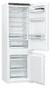 1 - Gorenje RKI5182A1 Beépíthető kombinált hűtőszekrény, A++