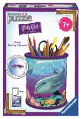 Ravensburger sestavljanka lonček za pisala Podvodni svet, 54 kos