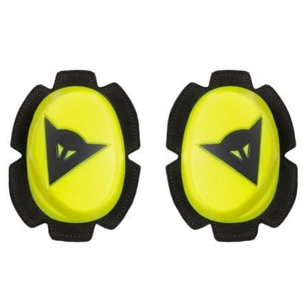Dainese kolenné slidery PISTA, fluo žltá/čierna (pár)