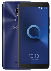 Alcatel 3C (5026D), Metallic Blue