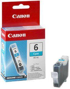 Canon BCI-6C (4706A002), azurová