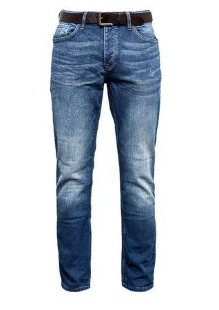 s.Oliver spodnie jeansowe męskie 31/32, niebieski